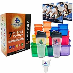 Fitbody Nation 4.2 out of 5 stars 20Reviews 28pcs 21 Day Portion Control Containers