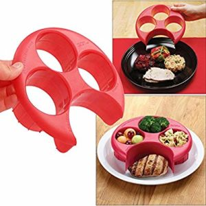 Snowfoller Meal Measure Portion Plate: Snowfoller-Accessory